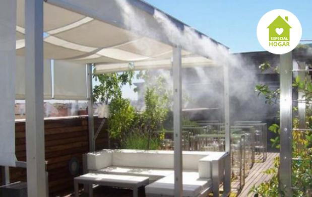 Difusor de terraza o jardín de 10m