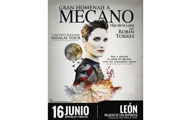 """Entradas ZONA GOLD FRONT STAGE """"Hija de la Luna, homenaje a Mecano"""" por 19,90 €"""
