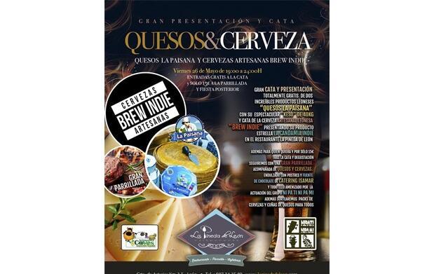 Entrada Presentación y degustación Quesos&Cerveza + parrillada por 9 €