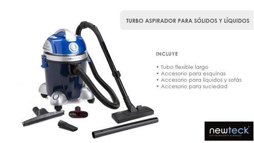 Turbo Aspirador para sólidos y líquidos