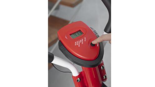 Bicicleta elíptica Q7 roja