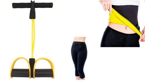 Personal Trainer elástico + Faja reductora + Pantalon reductor