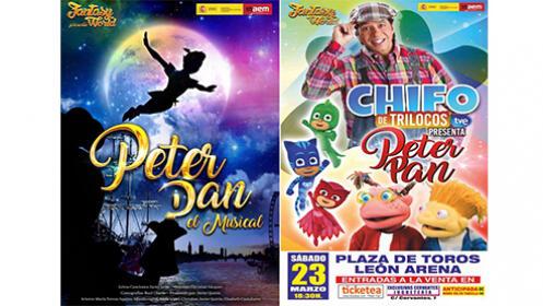 Entradas para el Musical Familiar PETER PAN por 6,90 €