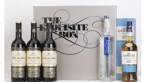 Whisky The Glenlivet+ Premium Gincity+3 Rioja Alta Viña Albina