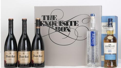 Whisky The Glenlivet+ Premium Gincity+3 Rioja Monte Real