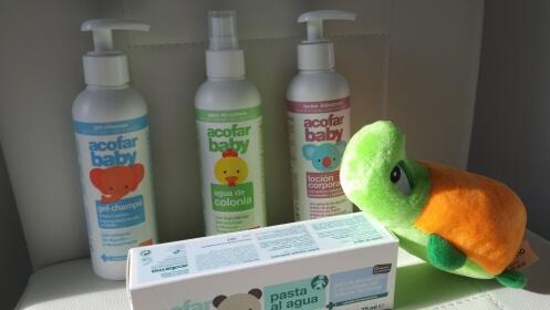 Lote de productos higiene y cuidado del bebé por 29,90 €