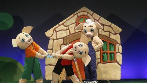 Entradas para el musical 'Los tres cerditos'