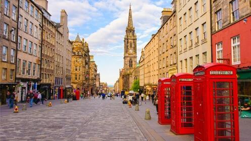 2 o 3 noches en Edimburgo– Hotel y vuelos directos incluidos