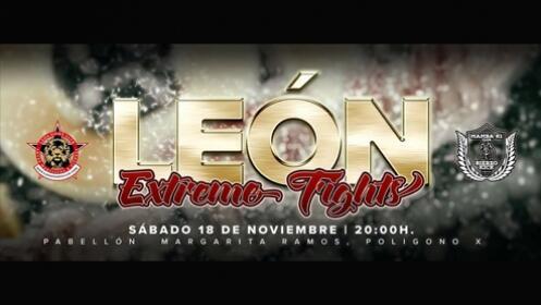 Entradas LEÓN EXTREME FIGHTS por 11 €