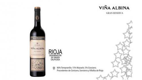 Pack de 6 vinos Viña Albina Gran reserva 2010