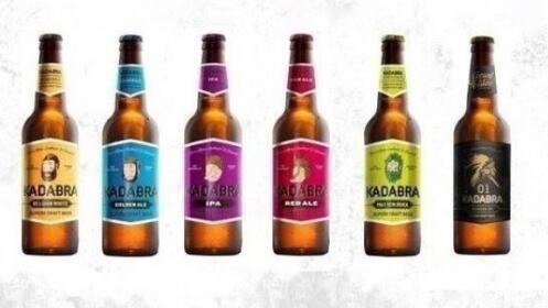 Caja de 12 cervezas KADABRA por 17,90 €