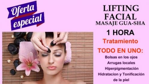 Lifting facial con masaje por 22,50 €