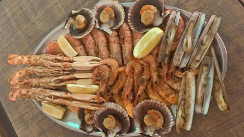 Menú para 2 personas con parrillada de marisco por 44,90 €