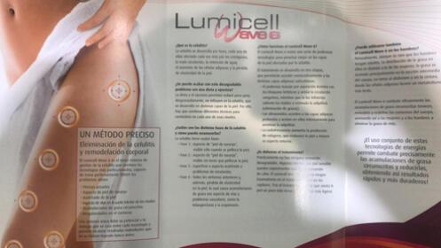Sesión Lumicell + Indiba +  2 sesiones de  Presoterapia por 69 €