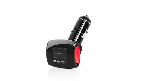Transmisor FM + manos libres + Lector USB y Micro SD